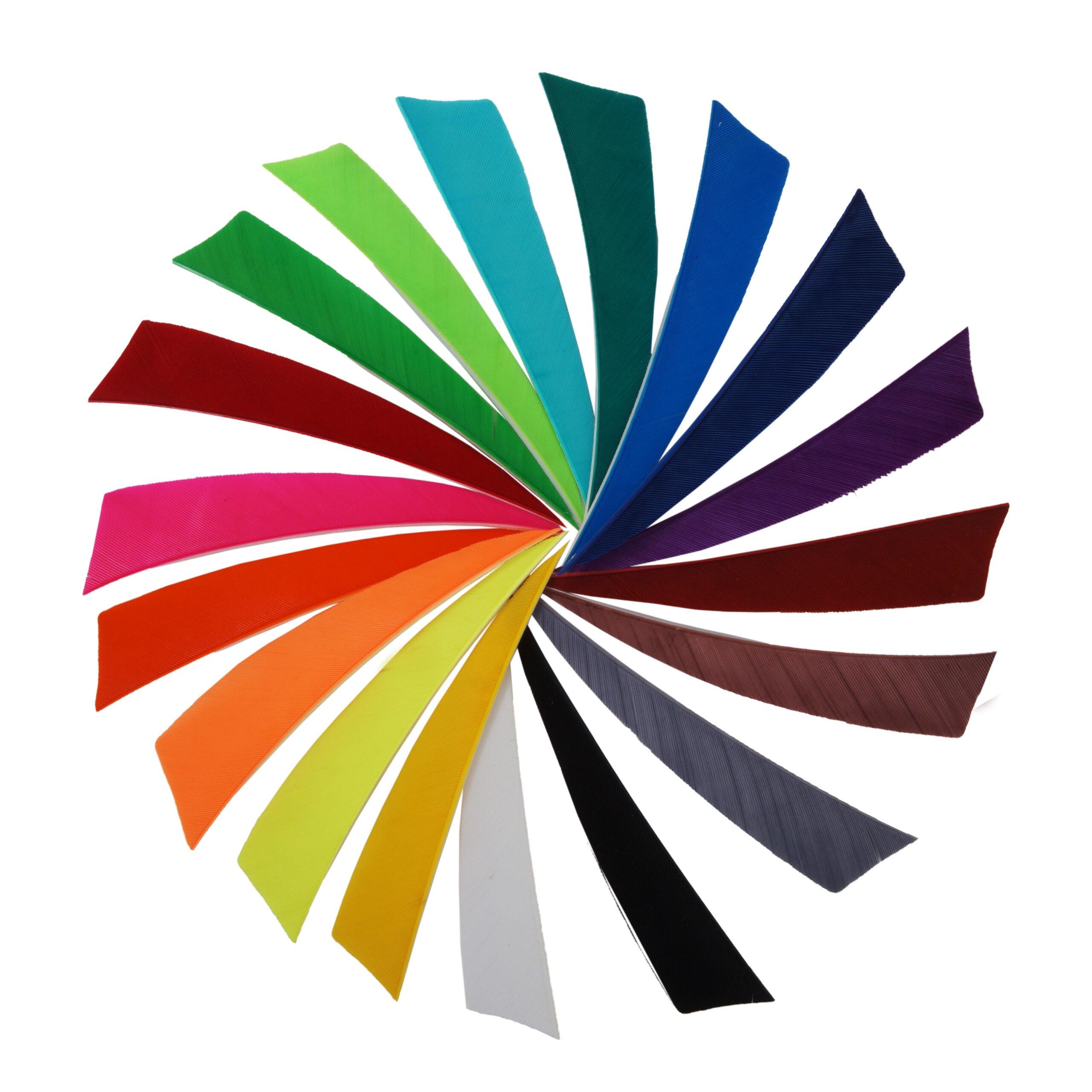 BEARPAW Feder Shield Einfarbig 4 Zoll RW
