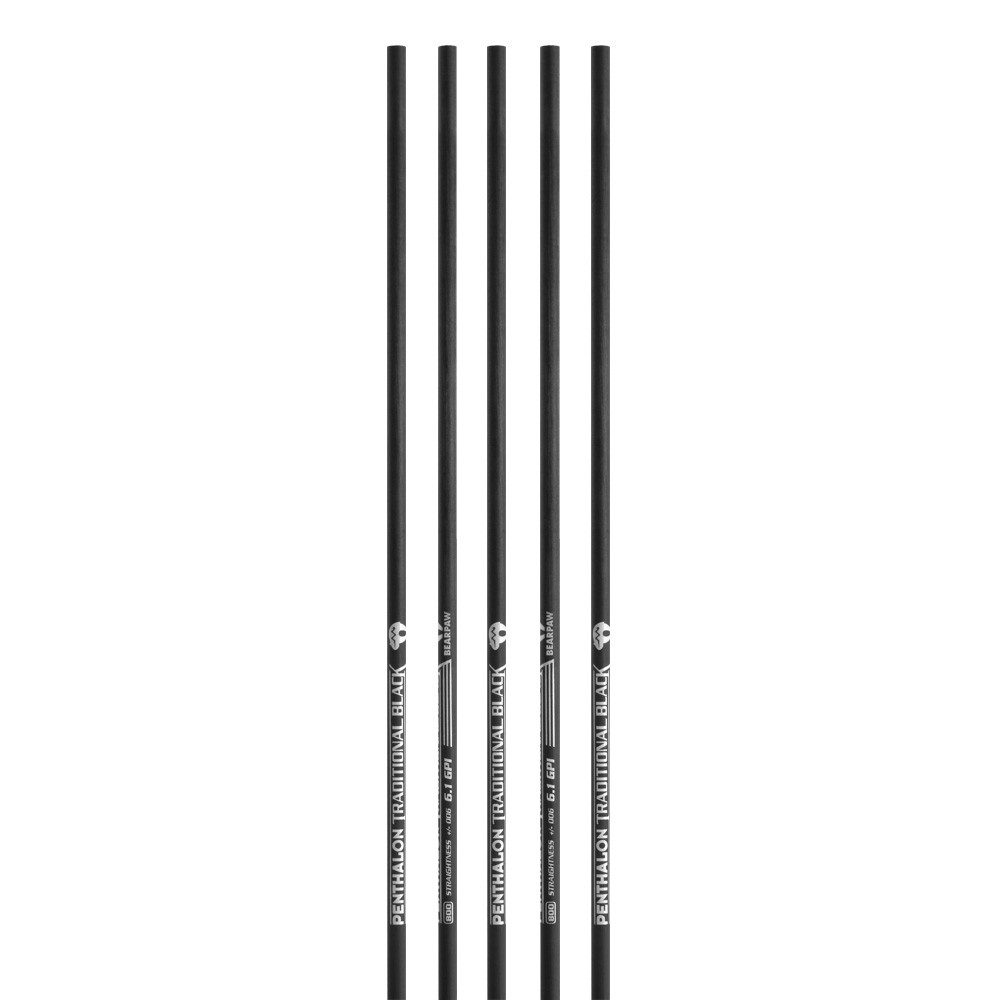 BEARPAW Penthalon Traditional Black Schaft
