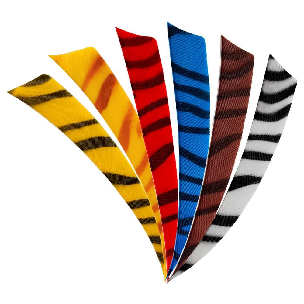 BEARPAW Feder Shield Zebra 4 Zoll RW